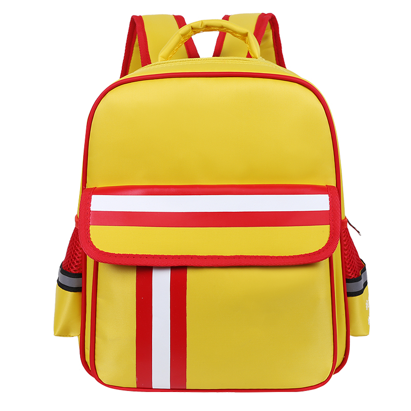 Kid Large Capacity Canvas Backpack For Women Men Teenagers Travel Student Solid Backpack