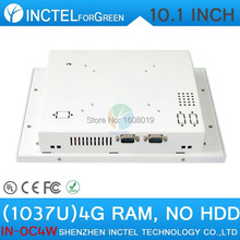 2015 new product White LED computer Touch screen All in one pc with White Color 1037u processor Windows linux 8G RAM ONLY