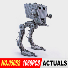 05052 1068pcs New Lepin Out of print empire AT ST Building Blocks Bricks Model Toys Boys Gifts