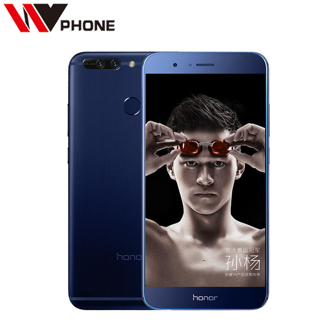 Original Huawei Honor V9 4G LTE Mobile Phone Kirin 960 Octa Core 6G RAM 64G ROM 5.7 Inch Dual Rear 12.0MP Camera
