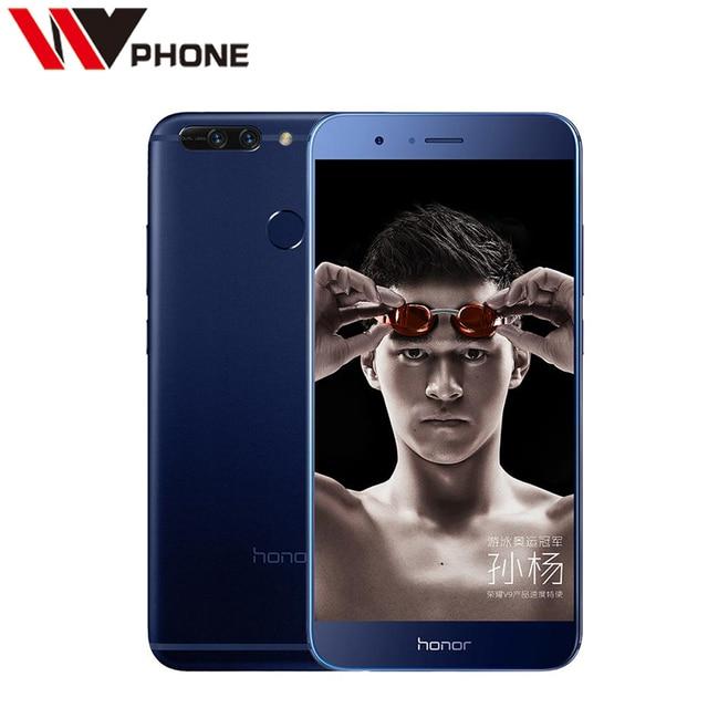 Original Huawei Honor V9 4G LTE Mobile Phone Kirin 960 Octa Core 6G RAM 64G ROM 5.7 Inch Dual Rear 12.0MP Camera