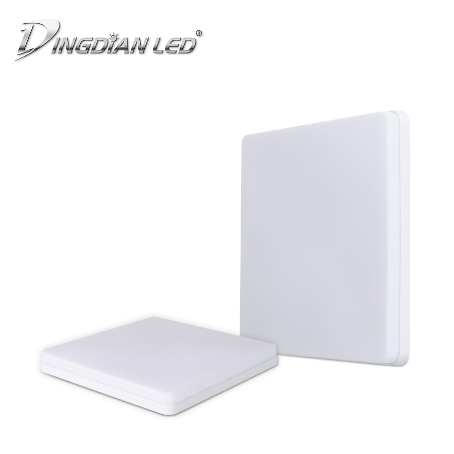 DINGDIAN LED 185-265V Modern LED Square Indoor Ceiling Light Surface Mounted Simple Install Corridor Bedroom 18W/36W/48W Lamp