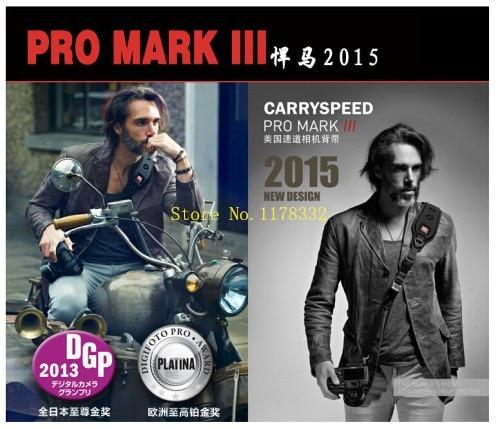 2015 NEW Camera Single Shoulder Sling Strap Carry Speed Camera Strap Mark III For Canon Nikon DSLR Camera