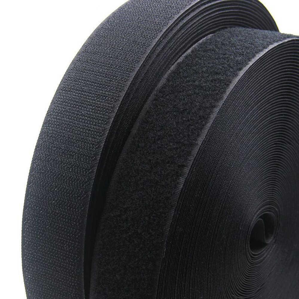 1M Cặp Móc và Vòng Băng buộc Không Dán móc velcros dính May-trên dải Magic dây băng dính DIY Móc và vòng lặp
