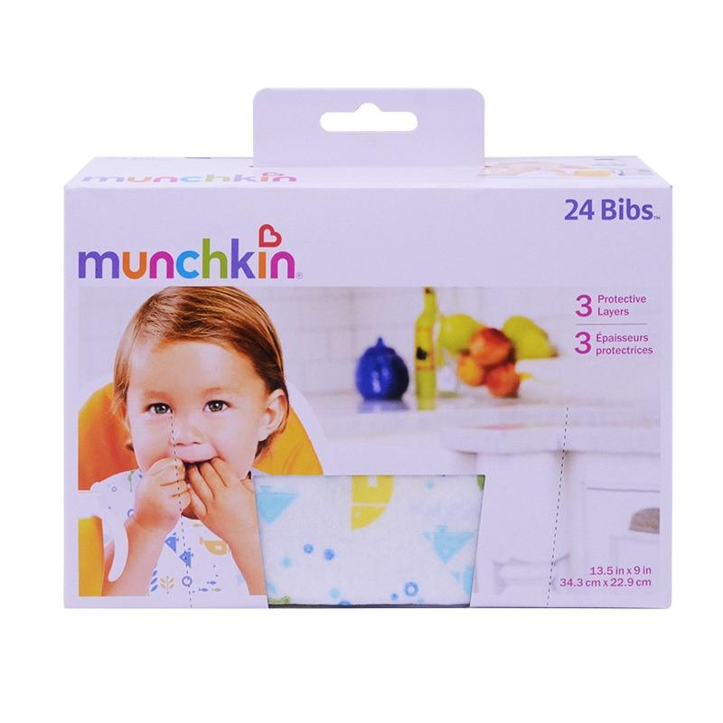 Munchkin Jednorazowe artykuły stołowe Śliniaki 24 sztuki Czysty i - Karmienie - Zdjęcie 2