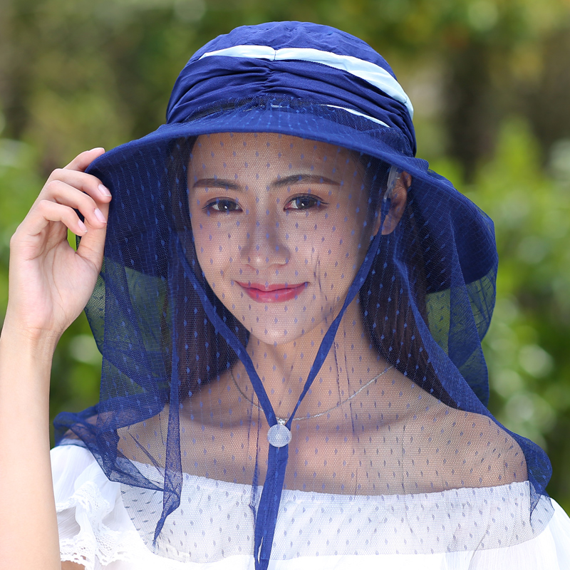 Summer Foldable Hats For Female New Fashion Design Sun Hat For Girls Anti-UV Wild Sun Cap O