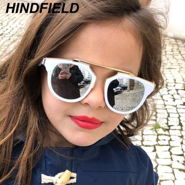 0b906240a35 Boys Girls Kids Aviator Sunglasses Metal frame UV400 Lens Party Baby