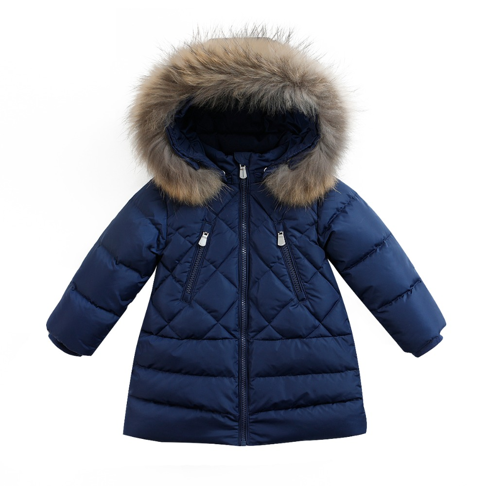 c873dd2b8 marc janie Winter Baby Girls Kids  Lightweight Down Jacket With ...