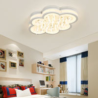 Modern LED Ceiling Lights For Children Bedroom AC85 260V Lampara De Techo Living Room Bedroom Star