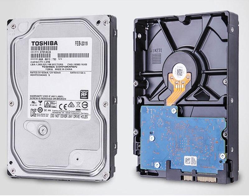 TOSHIBA 3.5Inch Hard Drive 500GB 1TB HDD Disk 1T Internal HD 7200RPM 32M SATA 3 for Computer Internal Hard Drives Drevo 5