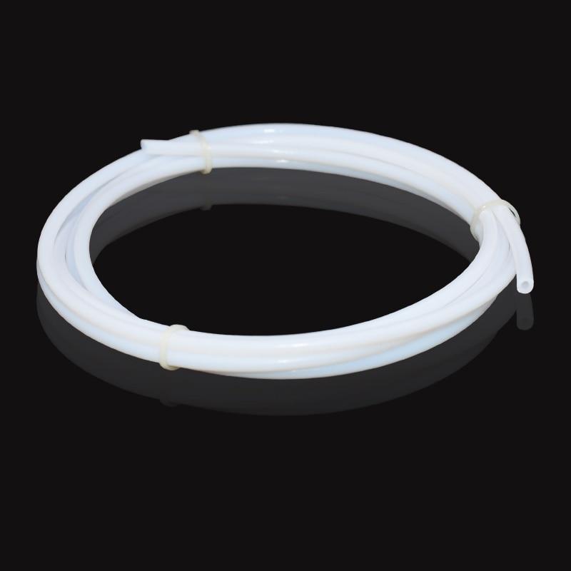PTFE Tube Teflon PiPe For J-head hotend RepRap Rostock Bowden Extruder Throat 3D V5 V6 1.75mm 3mm Filament 3D Printer Parts j head bowden heatsink for 1 75mm filament short distance j head 3d printer v5 free shipping