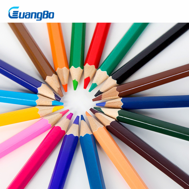 Guangbo Sketch Lápiz De Color 182436 Coloresset Profesional Kit