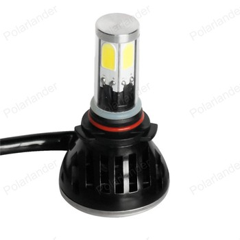 2016 Newest 9005 Car Led Headlight 30W 3200LM 6000K  White with Fan 9005 Led Headlight Fog Light Kit For Buick Free Shipping