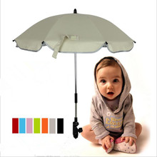 Top Quality Arbitrary Bending Baby font b Stroller b font Umbrella Folding Waterproof Sunshade Kid Rain
