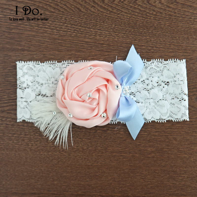 White Wedding Garter: Aliexpress.com : Buy Free Shipping White Lace Pink Flower