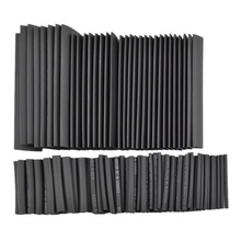 42 PCS Heat Shrink Tube black 6 Sizes Tubing Wrap Sleeve Set Combo