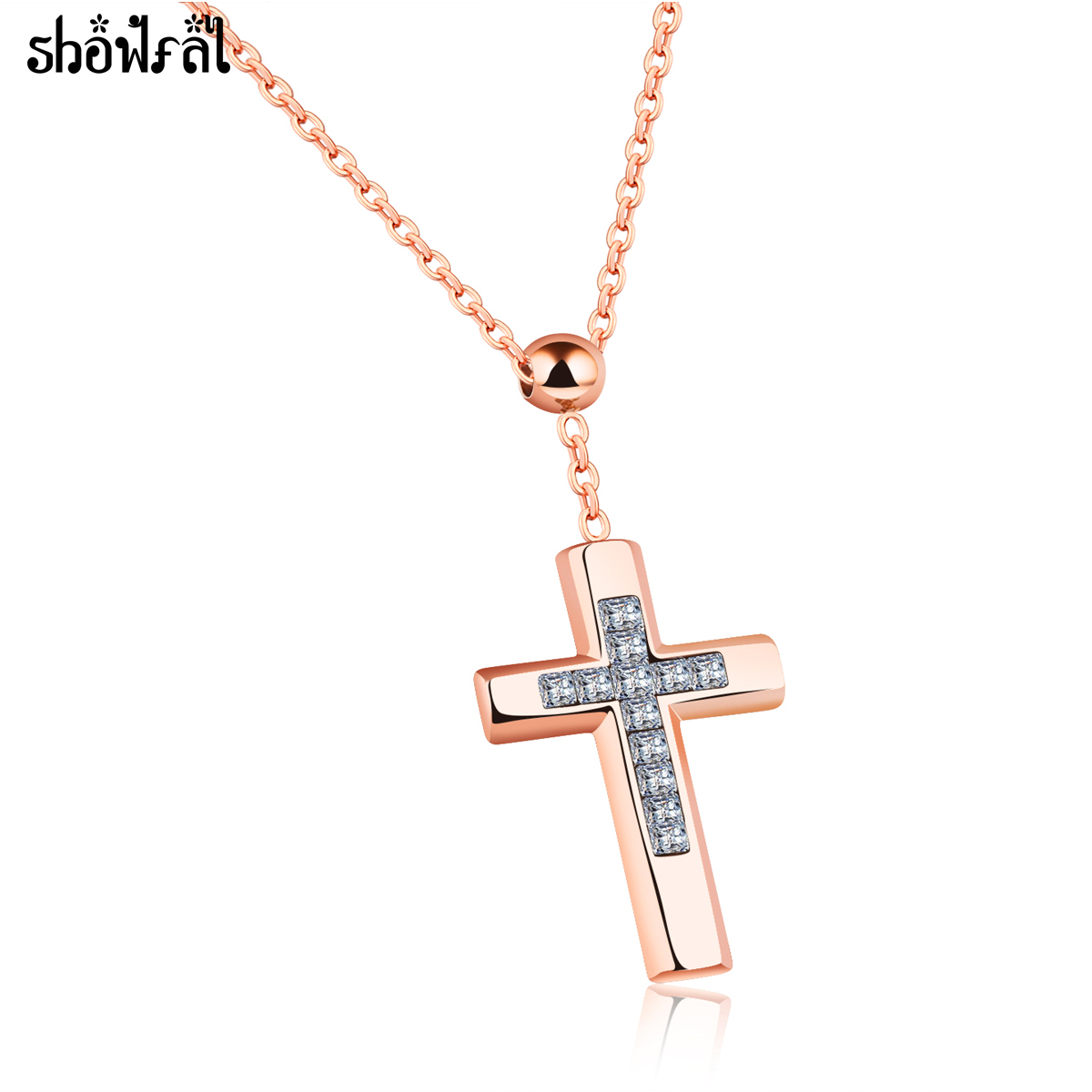 showfay fashion bulgarian zircon cross necklaces pendants. Black Bedroom Furniture Sets. Home Design Ideas