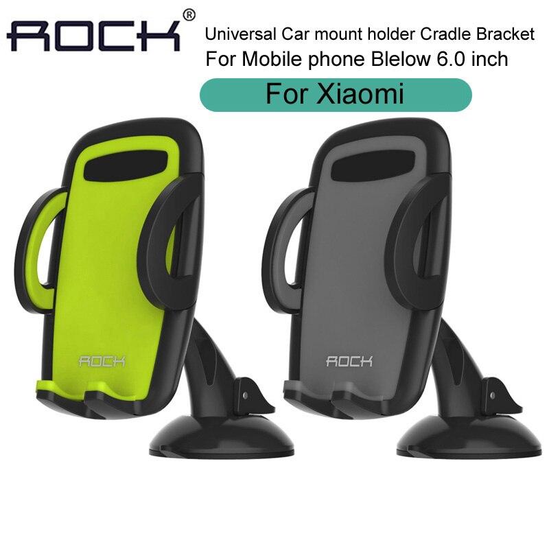 Цена за Универсальный автомобильный держатель для мобильного телефона Гора Колыбель кронштейн для Xiaomi Mi5s Mi6 плюс Redmi Note 3 4 Pro 4x3 S Mi4C mi4s