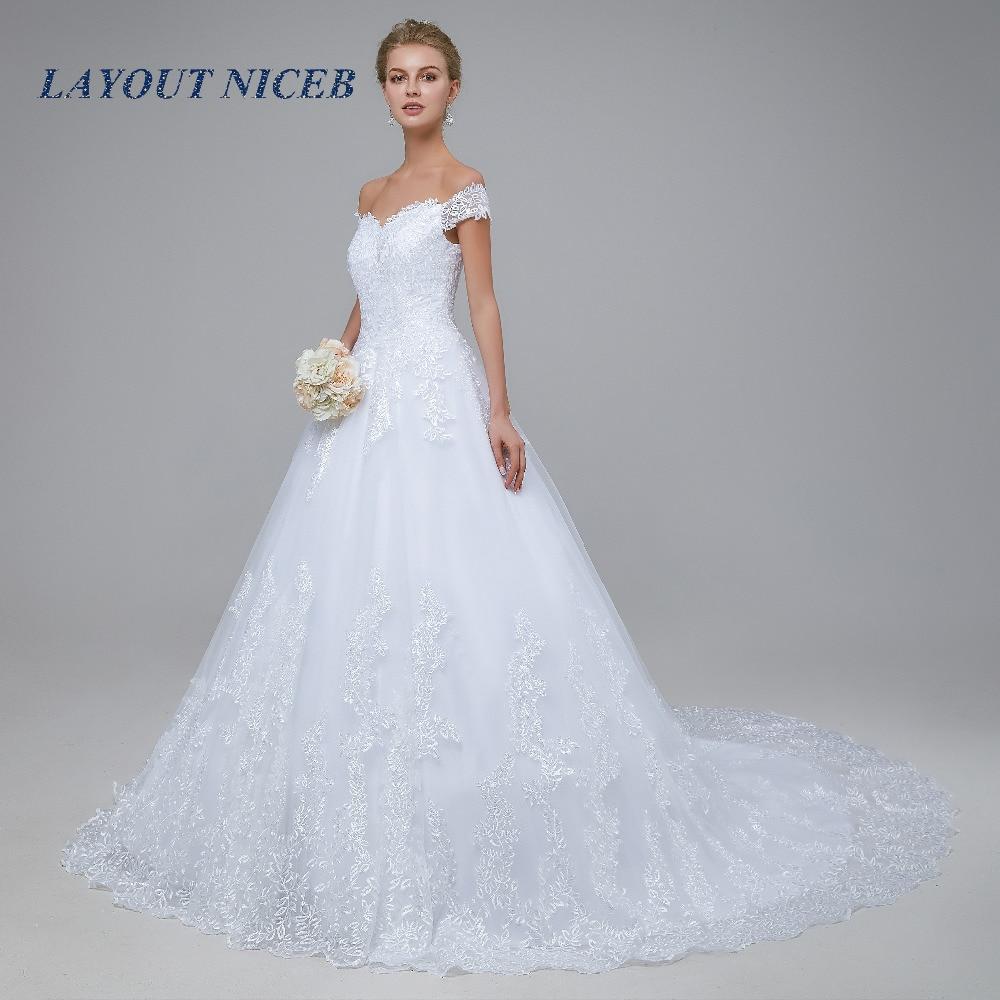 2018 New Arrival robe de mariage Bröllopsklänningar Skräddarsydda - Bröllopsklänningar - Foto 4