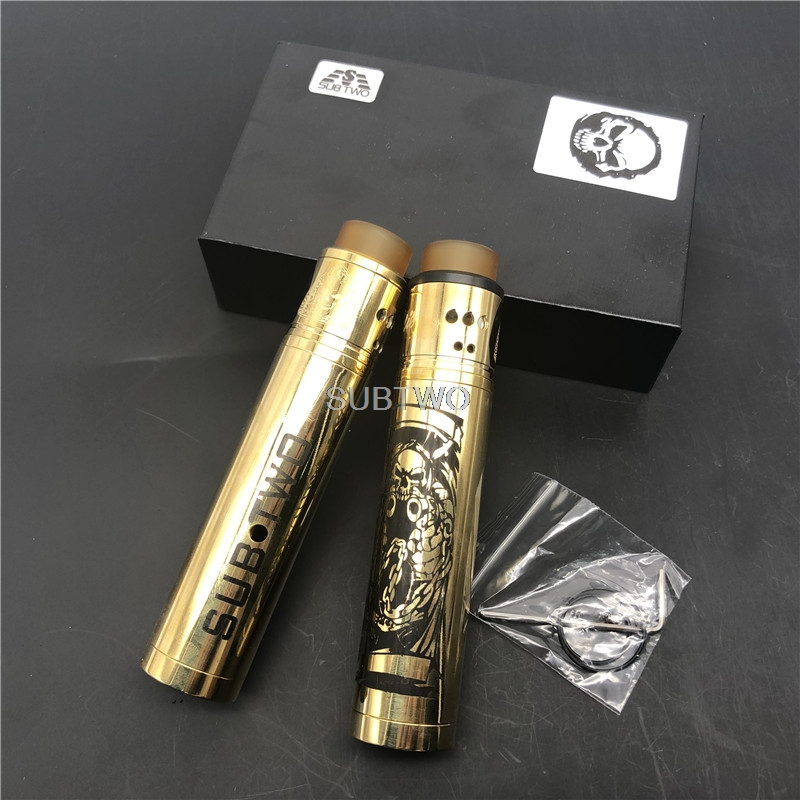 New subtwo mech mod 24mm diameter 18650 Battery vape pen Mechanical Mod vaper kit vs SOB MOD  ROGUE mod Vaporizer vs Appcalypse