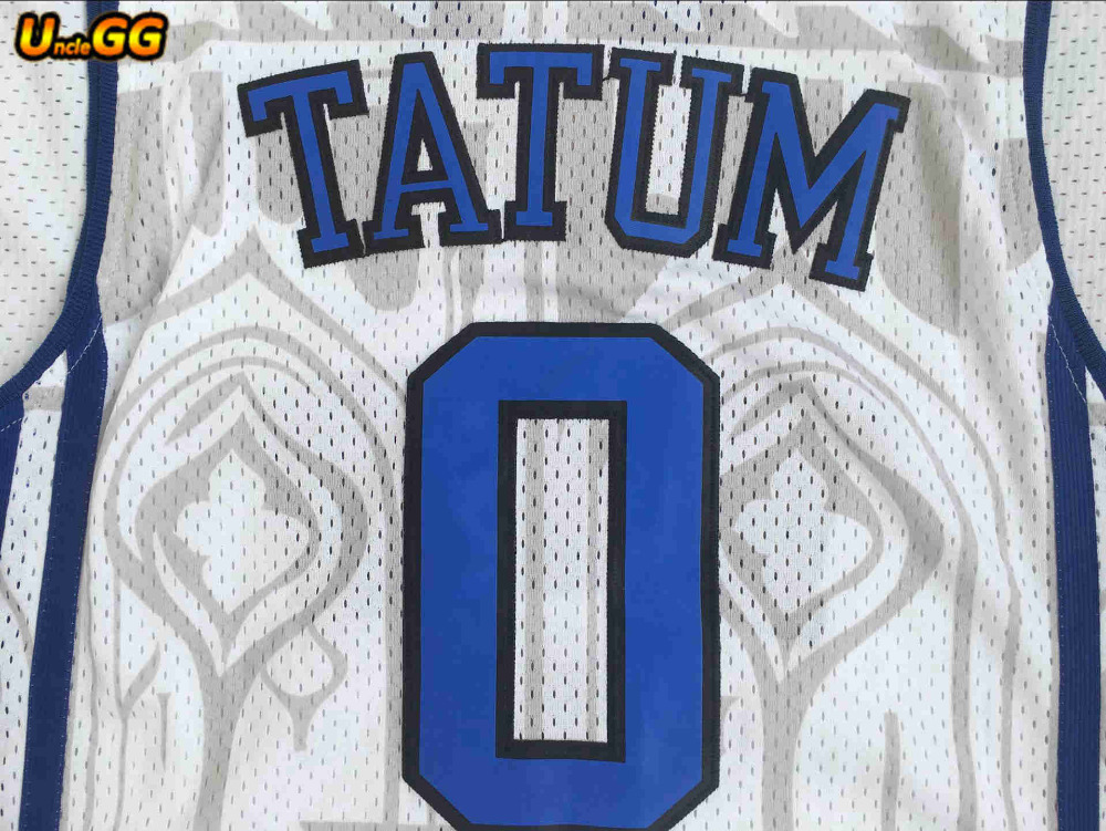 812909e66 Uncle GG Jayson Tatum College Jersey Duke Blue Devils Men Basketball Jerseys  For Sport Fans All Stitched Sport Shirt Wholesale-in Basketball Jerseys  from ...