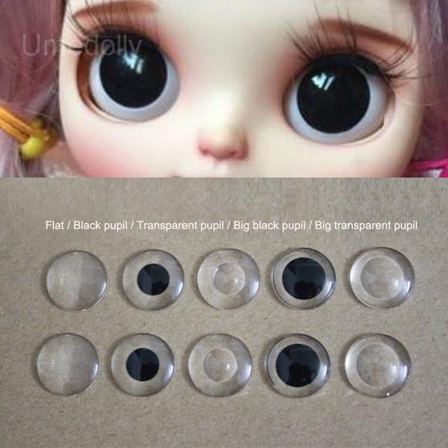 b8f67cd4703 5 Pairs Acrylic Blyth Eye Chips Blyth Doll Eyes Pupil for Custom DIY Doll  Accessories