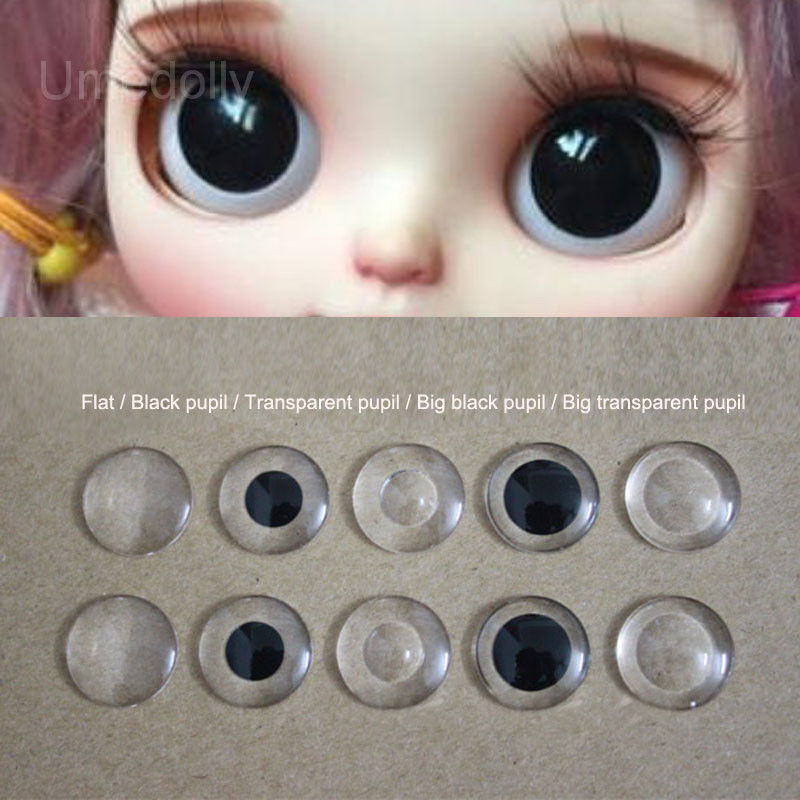 24mm  Pabol Gray//hazel Acrylic Half Round Doll Eyes FAST SHIPPING!!!