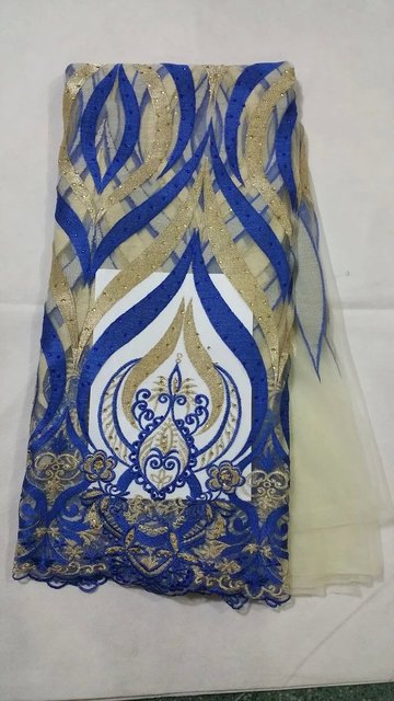 African  swiss voile lace high quality fabric 5 yards one piece,5 colors to choose from! !25 l-3-7