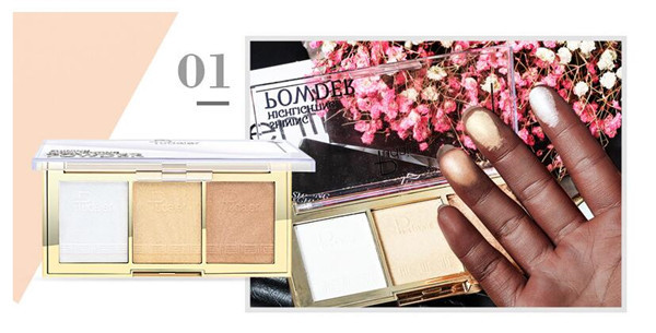 4 Style Makeup Gold Highlighte…