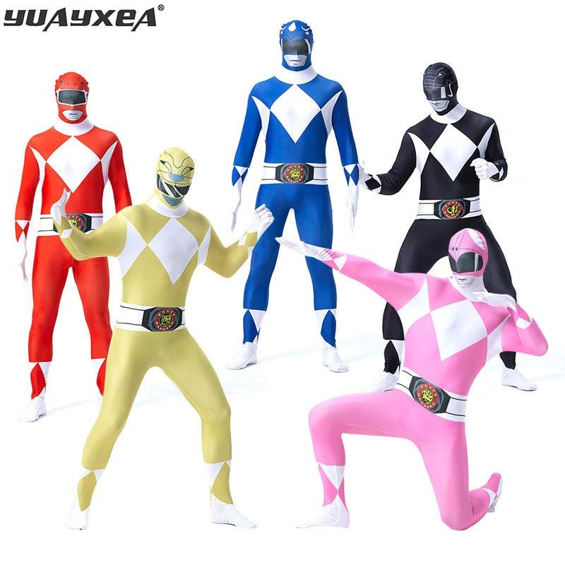 YUAYXEA Costumes d'halloween pour dinosaure Clan 5 guerrier Cosplay uniforme de Performance Collective M-XXL