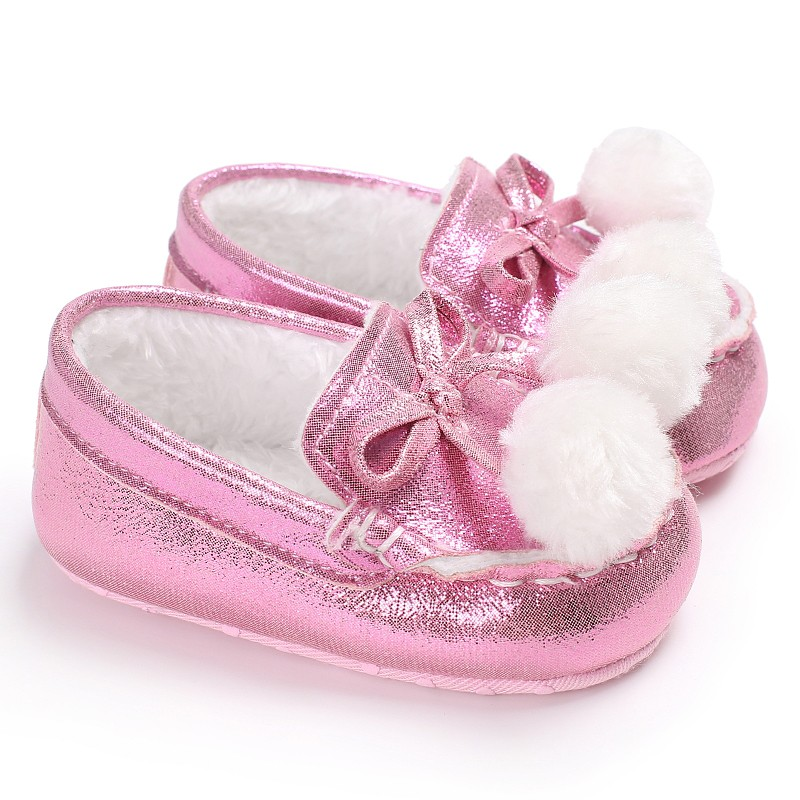 Baby shoe Soft sole pu leather baby girls princess shoes moccasins mary jane shoes first walkers