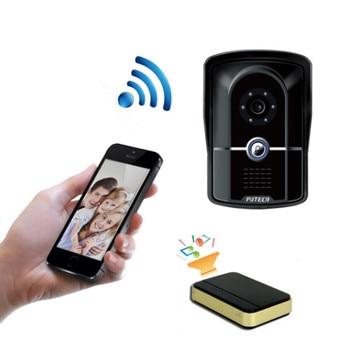 Water-proof IP55 1MP HD  WIFI IP Doorbell With Indoorbell