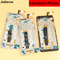 Joliwow 152mm For Xiaomi Redmi Note 3 Special Edition LCD Display Touch Screen Touch Frame Integrated