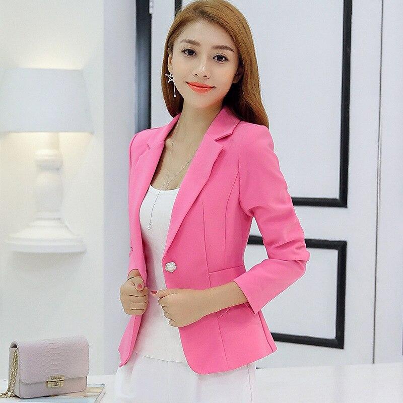 Popular Ladies Pink Blazers-Buy Cheap Ladies Pink Blazers lots ...