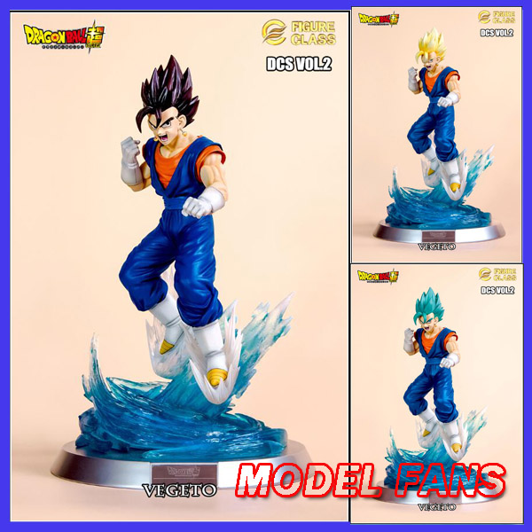 MODEL FANS presale Dragon Ball Z FC 36cm super saiyan blue Vegetto fight versio GK resin statue contain 3  for Collection