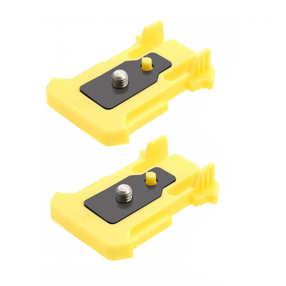 Quick Release Buckle Connection Mount for Sony Action Camera HDR AS10 AS15 AS100V AS30V Pack of