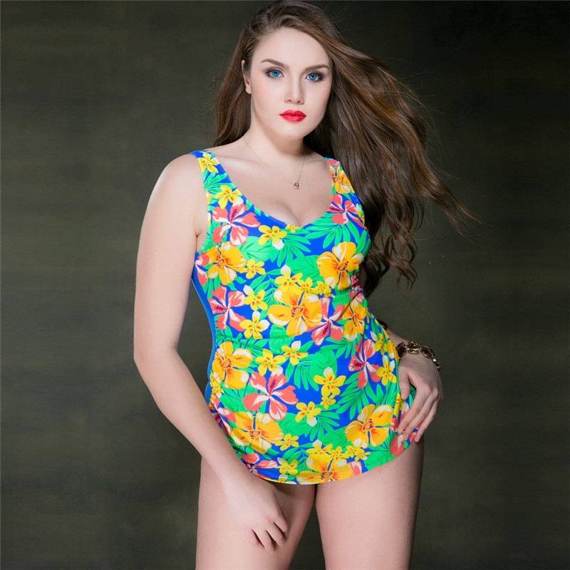 ФОТО 2017 Sexy Women Swimwear With Wire With Chest Pad One Piece Plus Size Swimsuit Swimming For Women Sport Professional Swimsuit