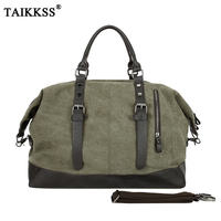 New Casual Vintage Multifunctional Fashion Canvas Travel Bag Unisex Large Capacity Men Hand Luggage Classic Travel
