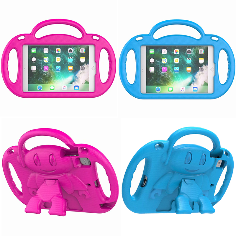 Shockproof Case For Ipad Mini 1 2 3 4 Stand Cover Safe Eva Case For Ipad Mini 4 Kids Safe Armor Hand Strap Shoulder Silicone