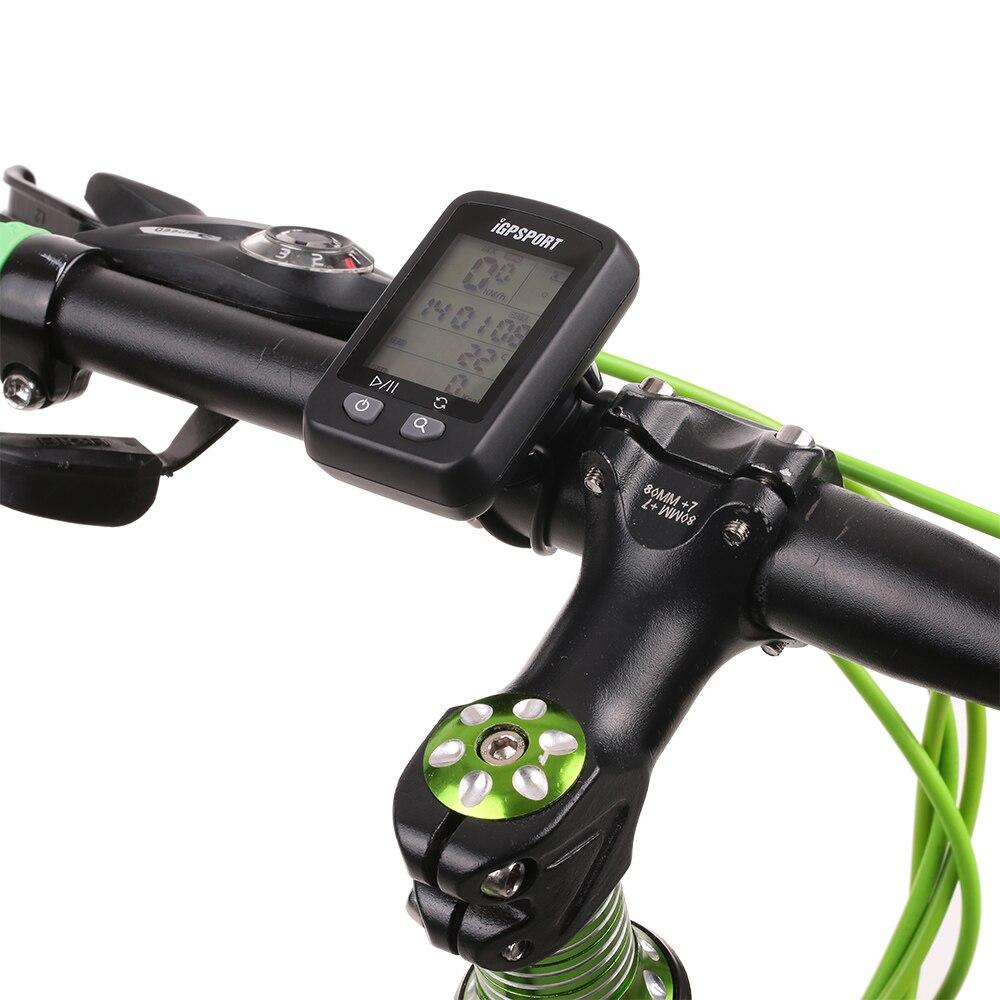 IGPSPORT iGS20E inteligente impermeable IPX6 GPS computador camino de MTB bicicleta deporte velocímetro cuentakilómetros titular + regalo gratis - 3