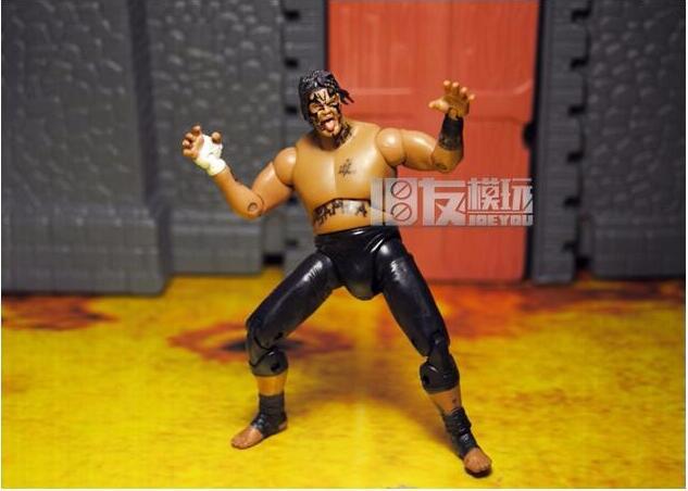 Limitada! 10 CM alta clásico JAKKS juguete Wrestler CM punk mate Hardy figura de