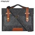 Mosiso Felt Laptop Shoulder Bag 11.6 13.3 15.6 inch Sleeve Cover Netbook Handbag Case for MacBook Air Pro 11 12 13 15 Asus HP