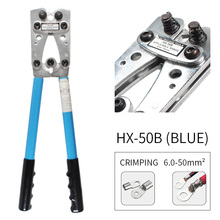 цена на Wire Crimper Crimping Tool Cable Lug Crimper Ratchet Wire Crimping Pliers for 10, 8, 6,4, 2,1/0 AWG Wire Cable Cutting and C