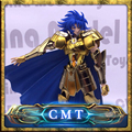 EN STOCK S-Templo MetalClub EX GEMINI SAGA Saint Seiya Myth Cloth EX Oro metal armor Figura de Acción