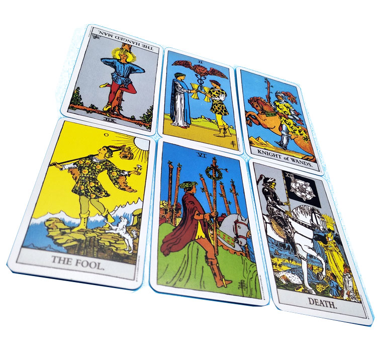 2019 NEW Mystic Tarot Deck Cards read the Mythic Fate Divination for  fortune witch Card Game Collection Cards Model toys Gifts