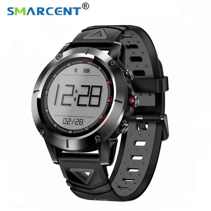 SMARTCENT Men IP68 Waterproof G01 GPS Smart Watch Blood Pressure Bluetooth Wristwatch Sports Compass Smartwatch for Android IOS