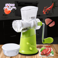 Manual Meat Grinder Home Meat Grinder Crusher Hand Twist Stuffing Machine Meat Grinder Scraper Mixer Scrubber