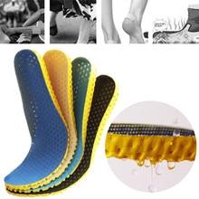 1 пара массивная обувь стелька ортопедическая обувь и аксессуары стельки ортопедический пенный наполнитель с эффектом памяти Спортивная Арка Поддержка вставки Pad для женщин и мужчин Горячая