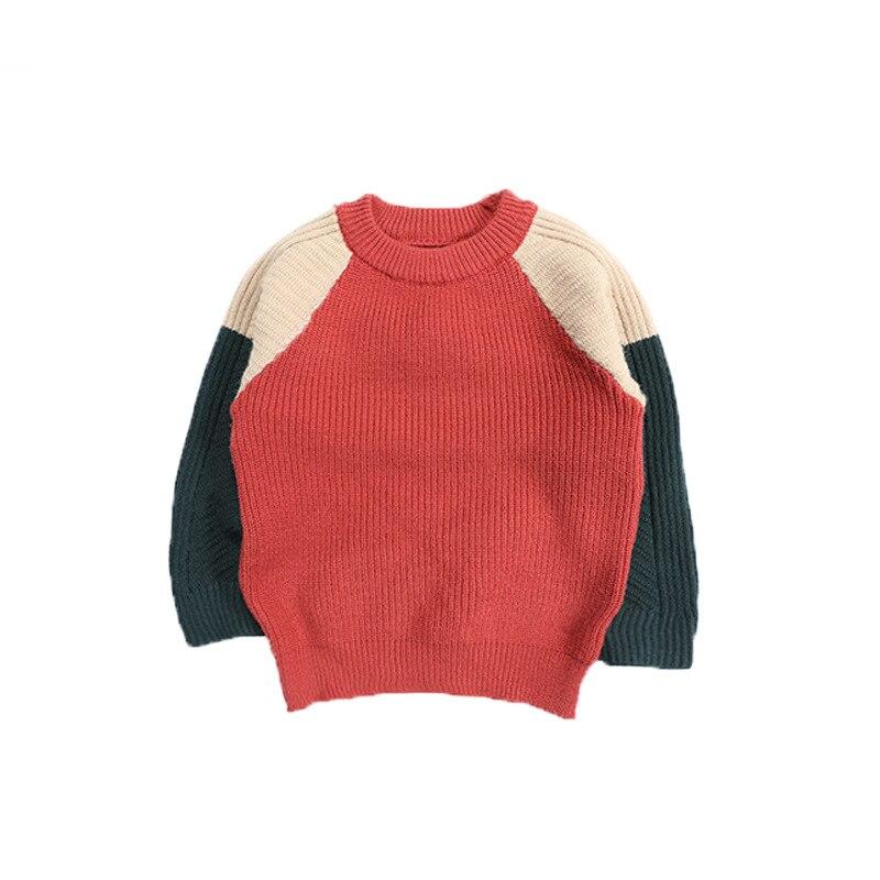 c199a96d8 Autumn Winter Baby Girls Warm Sweater of High Quality Children ...
