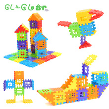 New High Quality 500g Plastic fight inserted Building Blocks Puzzle Educational Intelligence Toy